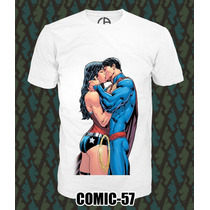 Playeras Comics Marvel Super Heroes Batman Superman 3x2¡¡
