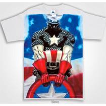 Playera Capitan America Aerografia Avengers