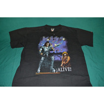 Playera Kiss - Gene & Paul Alive! -