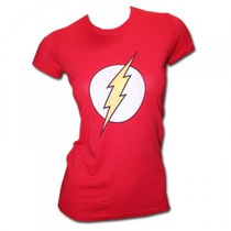 Playera Camiseta Flash Para Dama 100% Nueva