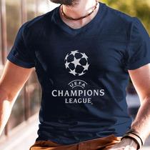 Playera Champions League Uefa Futbol