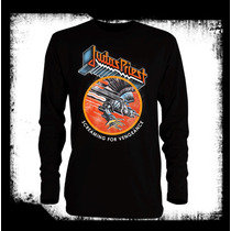 Judas Priest - Screaming For Vengeance Camiseta Manga Larga