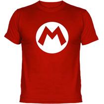 Playeras Mario Bros, Gamers, Luigi, Excelente Calidad
