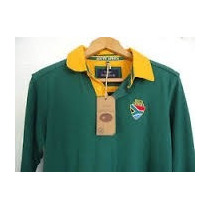 Playera Camisa Polo Rugby Heritage Sudafrica Mediana