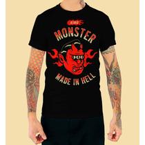 Playera King Monster Dc Comics Mod: Diablo En Vandalos