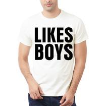 Playera Likes Boys Glee Todas La Tallas!!! 100% Calidad