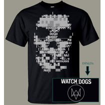 Playera De Watch Dogs Halo Killzone Megaman Video Juegos