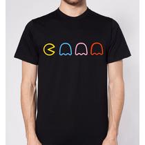 Camiseta O Playera Pacman Unisex Todas Tallas!!