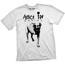 [art-factory] Indie Rock Bands - Playera De Alice In Chains