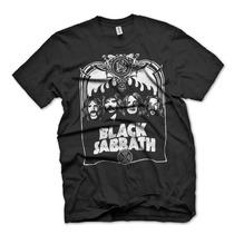 [art-factory] Indie Bands - Playera De Black Sabbath