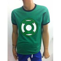 Playera Super Heroes Linterna Verde