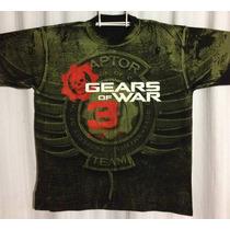 Playeras Gears Of War!!!!!