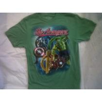 Marvel Avengers Playera Superherores Pelicula