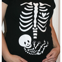 Blusas Maternidad, Baby Shower, Embarazo Esqueleto Rx Rayos