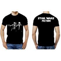 Playera O Camiseta Star Wars Pulp Fiction Darth Vader