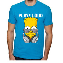 Playera O Camiseta Bart Simpson Cool Play