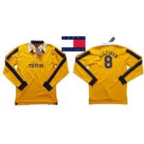 Playera Xl/20 Tommy Hilfiger Chavito Tipo Portero Futbol Ve!