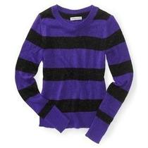 Sweaters Aeropostale Striped T-m Nuevo Original