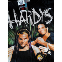 Playera Xl Wwe Jeff Y Matt Hardy Brothers Original Logo 3d