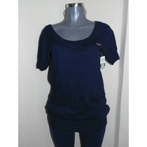 Sweaters Hollister Co. T-m Largo Original Nuevo, Ropade Frio