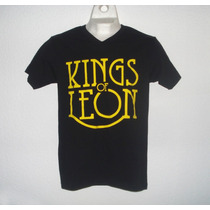 Playera Camiseta Kings Of Leon Rock Music Band Alternativo