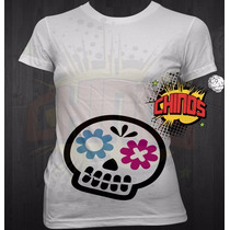 Playera Embarazada, Calavera, Halloween, Baby Showe, Diverti