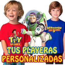 Playeras Toy Story Buzz Lightyear Woody Dsctos Por Mayoreo