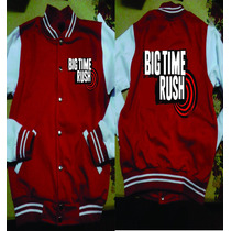 Chamarra Tipo Beisbolista Big Time Rush