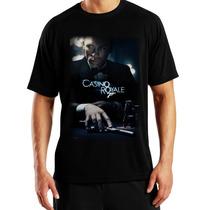 Playeras O Camiseta 007 Casino Royale Classic 100% Nueva