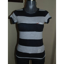Blusas Hollister Co. Xs-s Nueva Striped Orig. Sudaderas