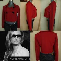 Abrigos Adrienne Vitaddini M-l Nuevo Orig. Chalecos,