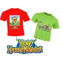 Playeras Henry Monster Personalizadas Estampadas Calidad