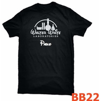 Playera Breaking Bad Walter White Labs Personalizada Bb22