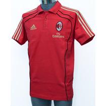 Playera Adidas Ac Milan De Polo 100% Algodón. Nueva/original