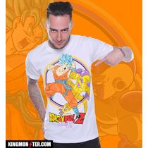 Playera King Monster Mod: Freezer Vs Goku