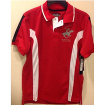 Playera Juvenil Beverly Hills Polo Club Deportiva Original