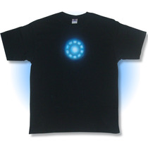 Playera Reactor Iron Man Phantomasx Camisa Comic Dc Airbrush