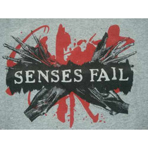 Playera Original Emo Senses Fail Punk Nueva