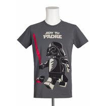 Playeras Star Wars Soy Tu Padre Máscara De Látex