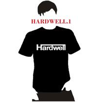 Playera Dj Hardwell, Hombre Niño Dama Promocion 4 X 5