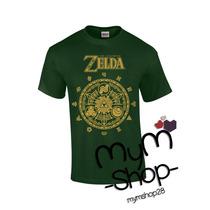 Playera De Zelda Camiseta Hyrule Historia Nintendo Link