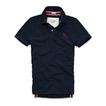 Playera Polo Abercrombie & Fitch Goodnow Mountain