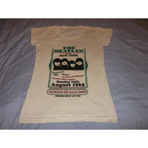 Playera / Remera The Beatles - Talle 3 - Nueva / Beige