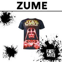 Playera Star Wars Guerra De Las Galaxias Darth Vader