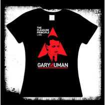 Blusa Gary Numan - Pleasure Principle Live New Wave Omd Cure