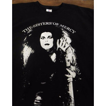 Sisters Of Mercy - Playera Ch - Xxl The Cure,morrisey,smiths