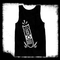 Ebm - Electro Body Music Bomb Tank - Camisa Resaque