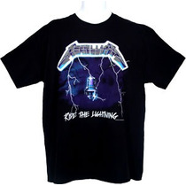 Metallica Ride The Lightning Playera Importada 100% Original