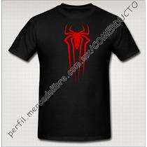 Playera Amazing Spider Man Negra Playera Hombre Araña Gocc