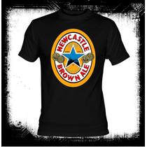 New Castle - Logo Cerveza Camiseta Belgica
